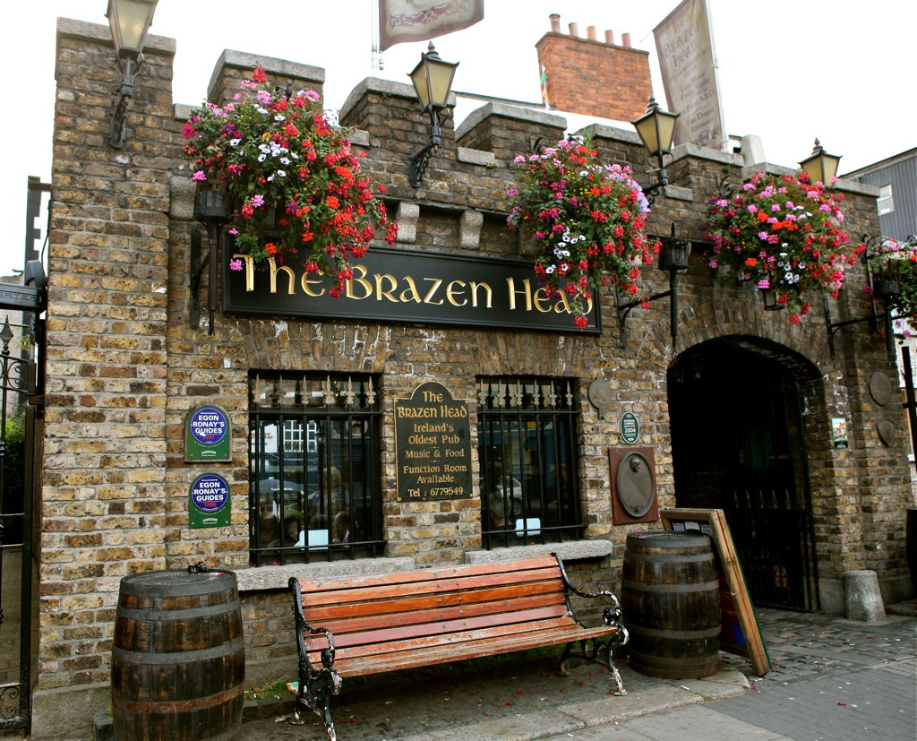 Image result for the brazen head dublin